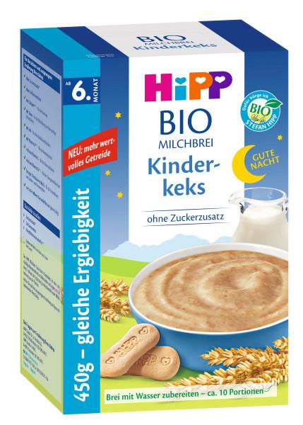Hipp Gute-Nacht-Brei Kinderkeks ab dem 6. Monat, 450g