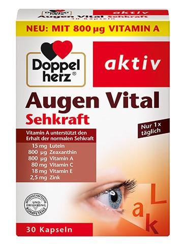 Double Coeur Eyes Vital, 30 Capsules