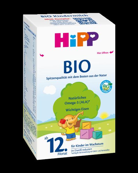 Hipp Bio milk for children from the 12th month, 600g