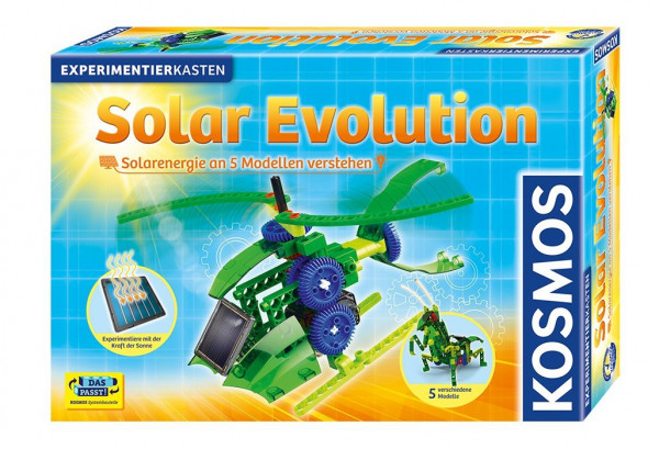 Kosmos Solar Evolution Experiment box Solar power from 9 years