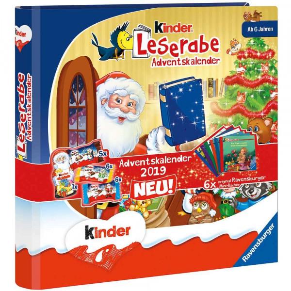 "Ravensburger children's ""reading hub"" advent calendar with 6 mini books from 6 years 109g"