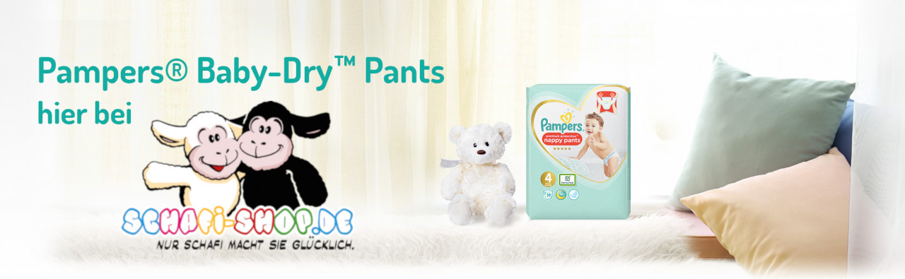 Pampers Pantalones Secos para Bebé Schafi Shop