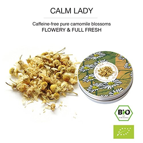 """Calm Lady"", 15g tin organic chamomile tea"