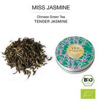"""""""Miss Jasmine"""", 30g Dose chinesischer, grüner Tee aromatisiert mit Jasmin"""