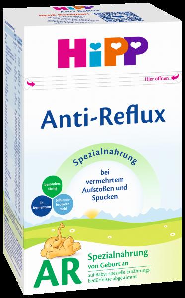 Hipp AR Anti-Reflujo, leche especial de inicio de alimento, 500g