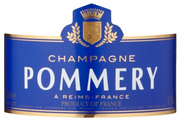 Pmmery Brut Royal label