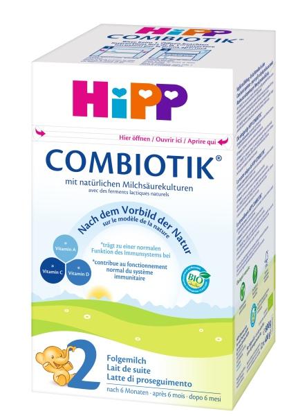 hipp bio combiotik 2 folgemilch ab 6 monat 600g. Black Bedroom Furniture Sets. Home Design Ideas