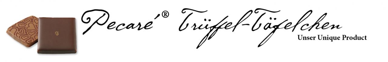 Pecareé Trüffel-Täfelchen