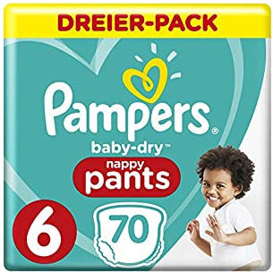 Pampers BabyDry Pants Size 6 (XL)
