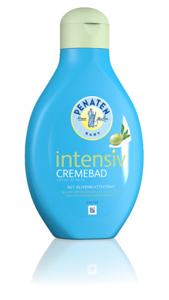 Penaten Baby Intensive Cream Bath with Olive Leaf Extract, 400ml
