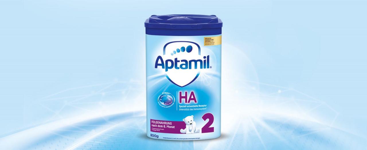 Aptamil HA2 con Banner Syneo