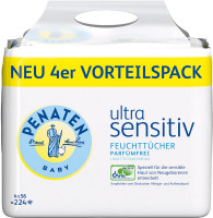 Toallitas húmedas Penaten Ultra Sensitive