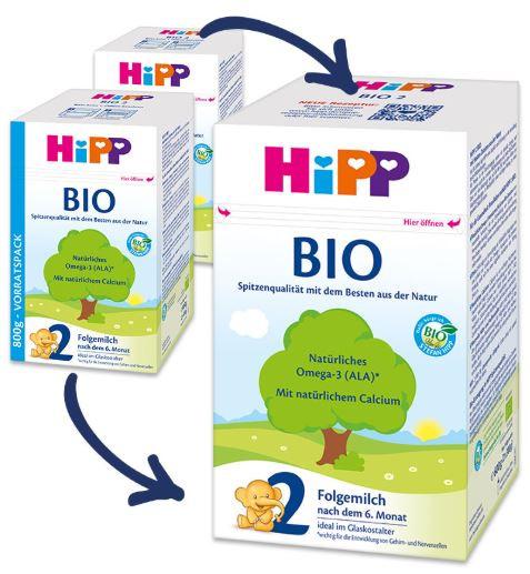 La nueva receta de Hipp Bio 2