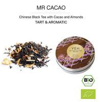 """""""Mr Cacao"""", 35g Dose schwarzer Bio-Tee aromatisiert u.a. mit Kakao-Bohnen"""
