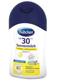 Lait solaire Bübchen Baby Sun Milk Facteur de protection solaire FPS 30, 150ml