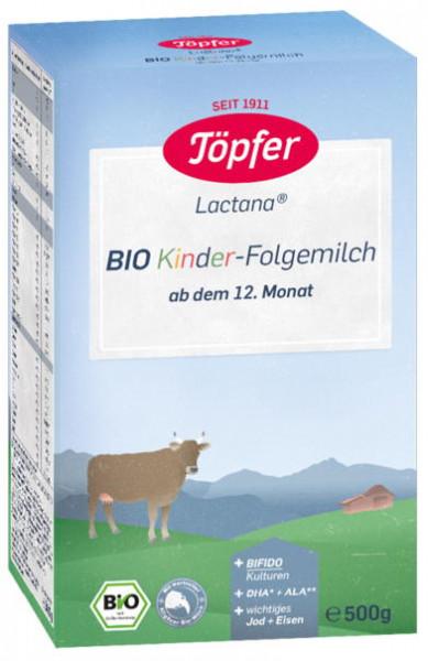Töpfer特福芬 Lactana 儿童有机后续奶粉,500克