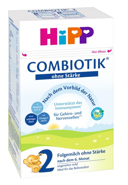 Hipp Combiotik 2 Follow milk without starch after the 6th month, 600g