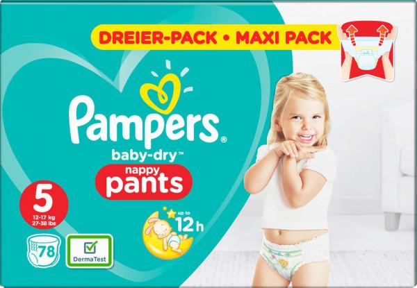 Pampers BabyDry Pants Größe 5 (Junior)