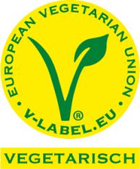 Etichetta a V