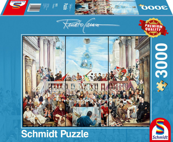 "Premium Schmidt Puzzle ""Glory of the world"", 3000 pieces"