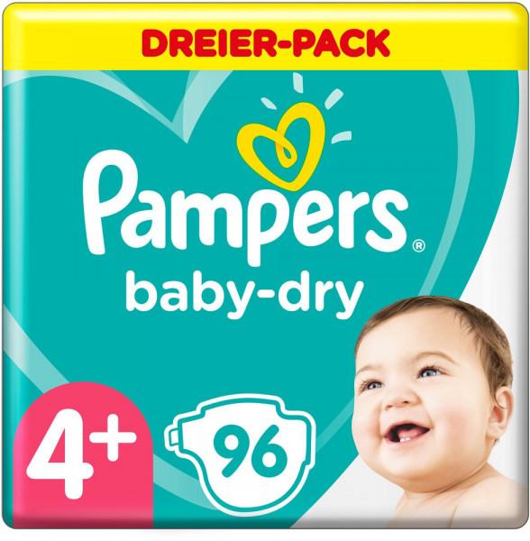 Pampers BabyDry tamaño 4+ (Maxi)