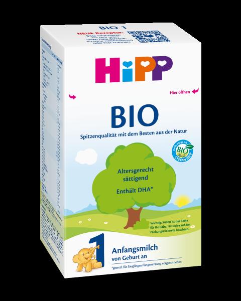 德国HiPP喜宝 有机1段初生婴儿配方奶粉,600克