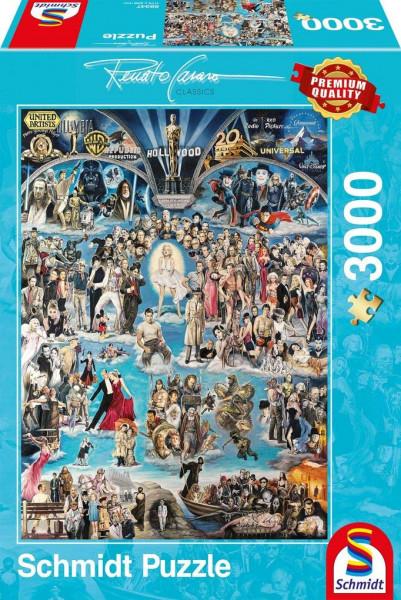 "Rompecabezas Schmidt Premium ""Hollywood XXL"", 3000 piezas"