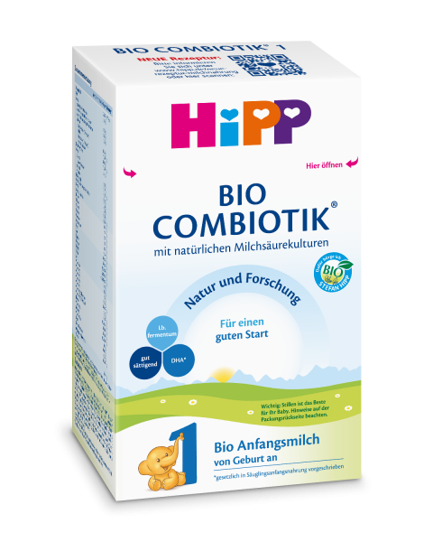 Hipp Bio Combiotik 1 initial milk from birth, 600g