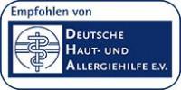 Eucerin empfohlen von Deutsche HAut- und Allergiehilfe e.V.