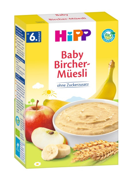 Hipp Organic cereal porridge Good morning porridge Bircher Müesli from the 6th month, 250g