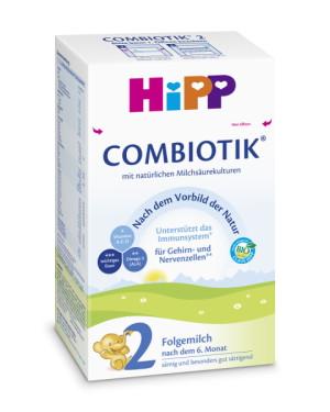 德国Hipp 喜宝有机益生菌2段奶粉6-10个月, 600克