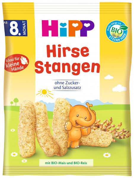 Hipp Organic Millet Kringle from the 8th month 30g, 5-pack (5x30g)