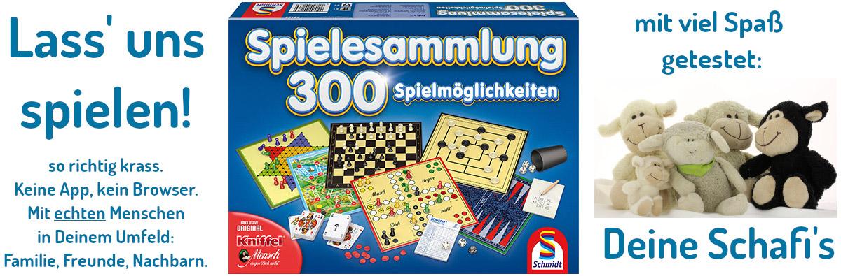 Schmidt Spiele Spielesammlung 300 Spielmöglichkeiten