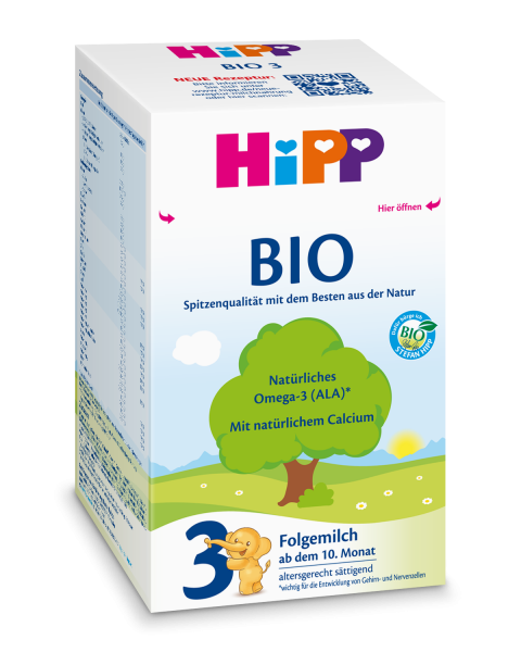 Hipp Bio 3 follow-on milk from the 10th month, 600g