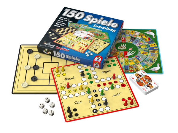 Schmidt Games 150 collection de jeux : 150 options de jeu