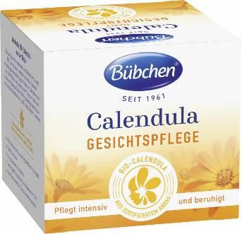 Bübchen Calendula Face Care Cream for dry baby skin, Sensitive, 75ml