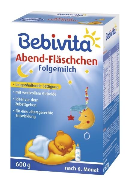 Bebivita Abend-Fläschchen, nach dem 6. Monat