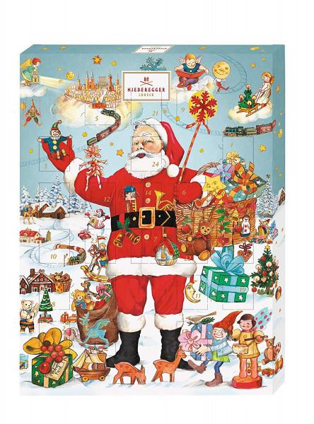 """Niederegger Advent Calendar """"Santa Claus"""", 500g"""