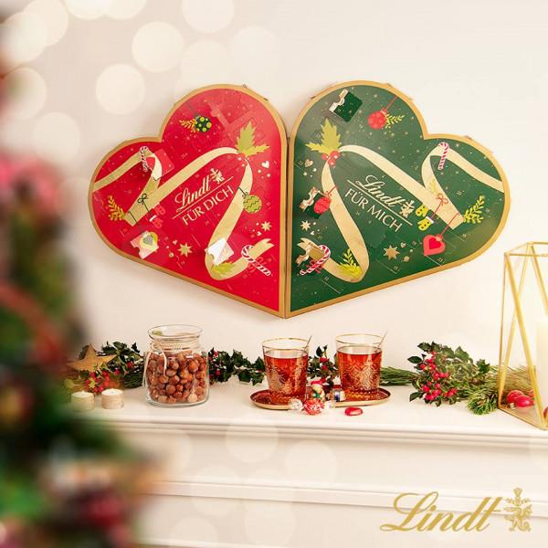 Lindt advent calendar couple