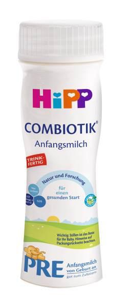 Hipp Combiotik PRE leche lista para beber, 200ml, 6-pack (6 x 200ml)