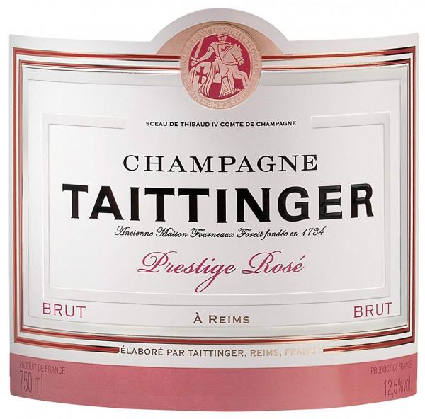 Taittinger Rosé Label