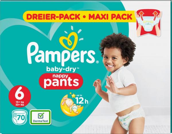 Pampers BabyDry Pants Größe 6 (XL)
