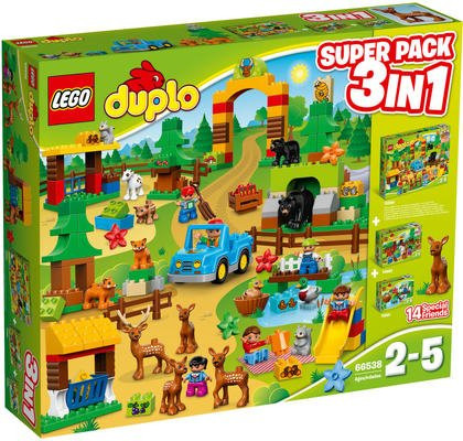 LEGO® DUPLO® Wildpark - Superpack 3in1