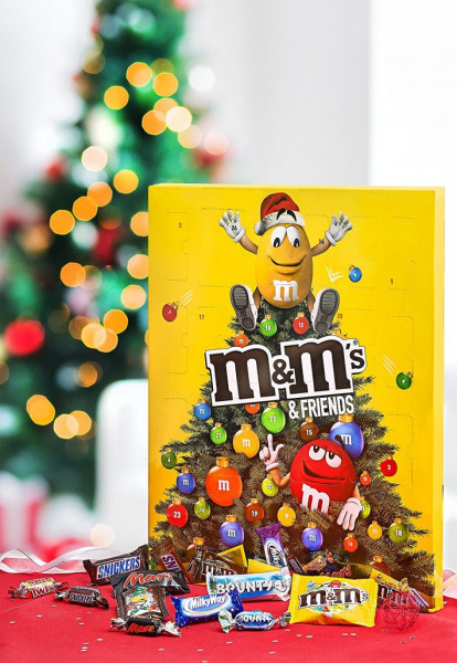 M&M Advent calendar