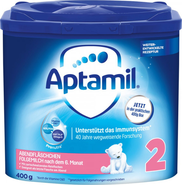 Aptamil evening bottle, 400g