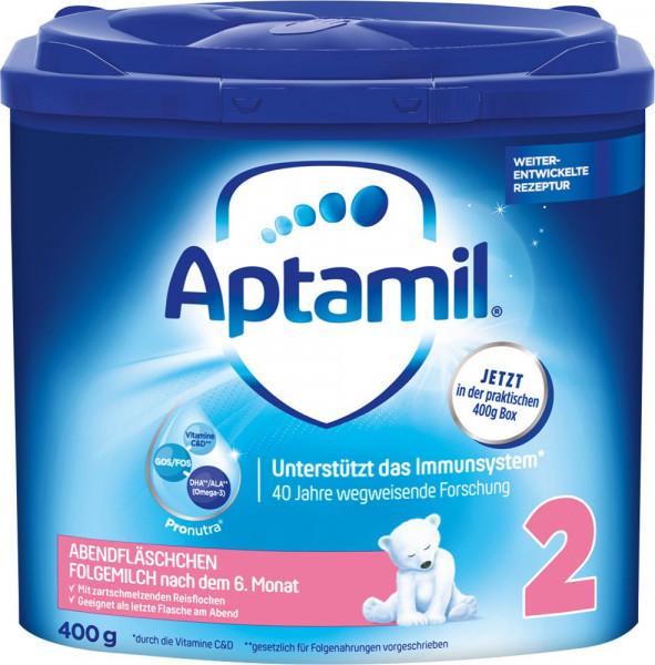 Aptamil晚装瓶,400g