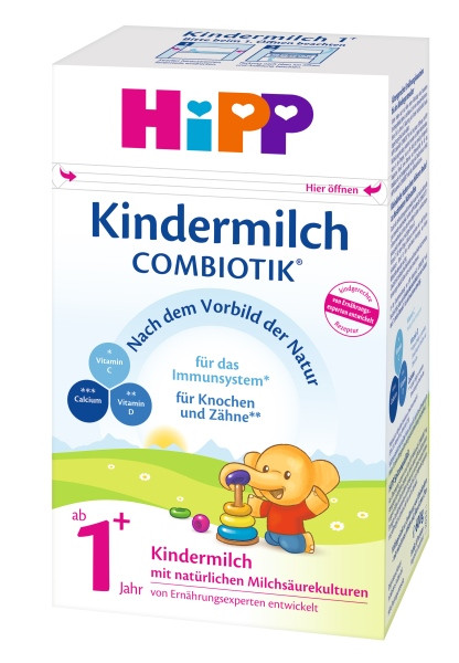 Hipp children's milk combiotik from the 1st year, 600g