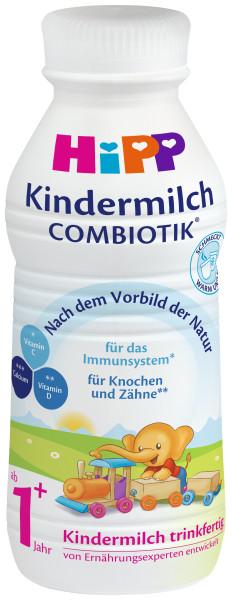 Hipp Kindermilch Combiotik 1+ trinkfertige Milch, 470ml, 6er-Pack (=6 x 470ml)