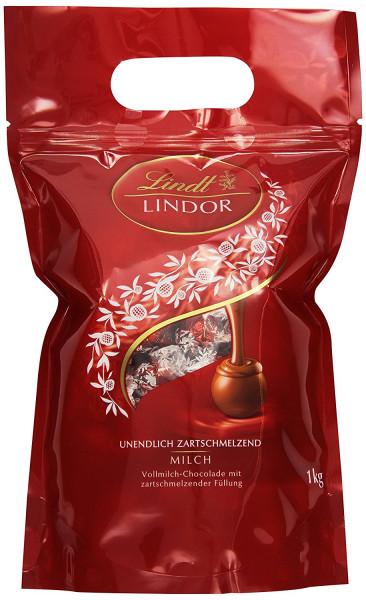 Lindt & Sprüngli Lindor balls whole milk, 1kg