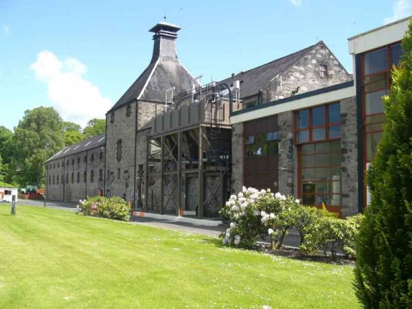 Die manufaktur von Aberfeldy - Highlands